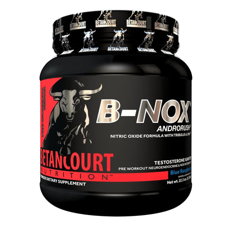 Image of Betancourt Nutrition B-NOX Androrush Pre-Workout - 633g - Blue Raspberry-Curavita