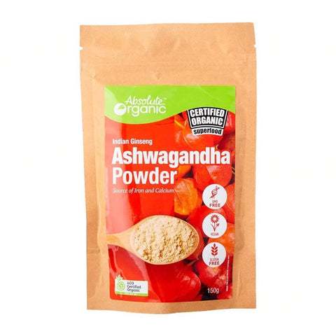 Image of organic ashwagandha powder