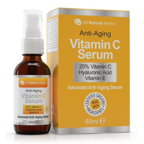 Image of All Natural Advice Premium Vitamin C Serum-Curavita