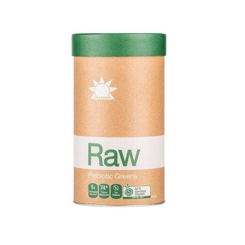 Amazonia raw greens 600gm label