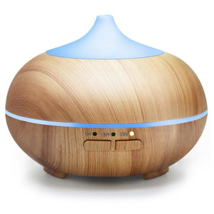 ASAKUKI 150ML Premium, Essential Oil Diffuser, Quiet 5-in-1 Humidifier-Curavita
