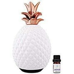 Prairie Essentials Ceramic Pineapple Essential Oils Diffuser 120ml-Curavita