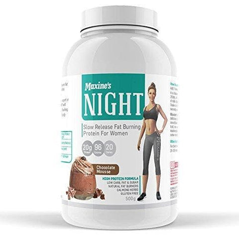 Image of Maxine's Night Slow Release Protein Powder for Women, Vanilla Dream, 500g-Curavita