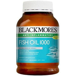 Blackmores Fish Oil 1000mg (400 Capsules)-Curavita