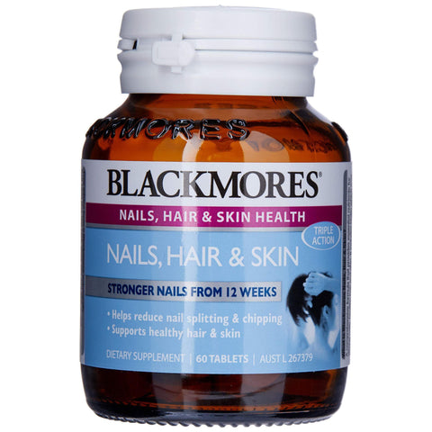 Image of Blackmores Nails, Hair & Skin (60 Tablets)-Curavita