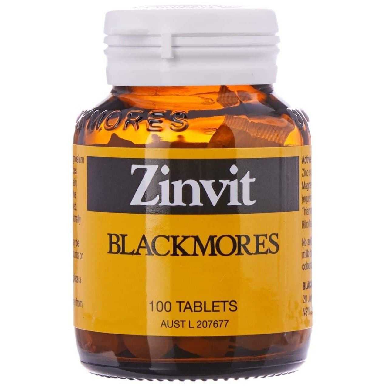 Blackmores Zinvit 220mg (100 Tablets)-Curavita