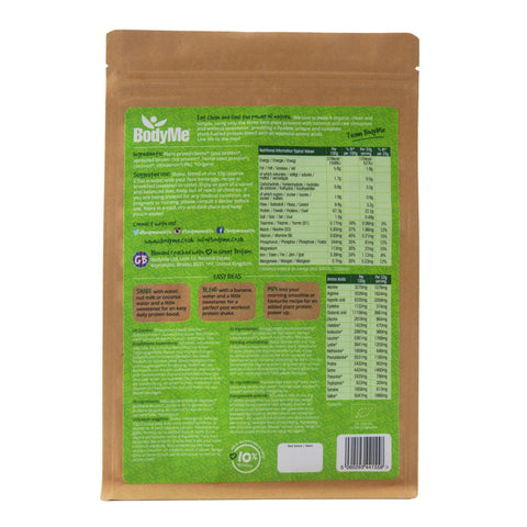 Image of BodyMe Organic Vegan Protein Powder Blend - Raw Cinnamon 1kg-Curavita