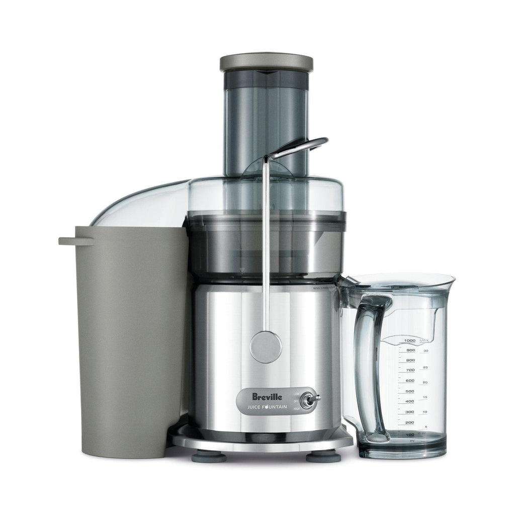 Breville BJE410CRO Juice Fountain Plus, Chrome-Curavita