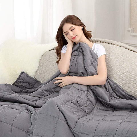 Image of BUZIO Weighted Blanket Heavy Blanket for Adults