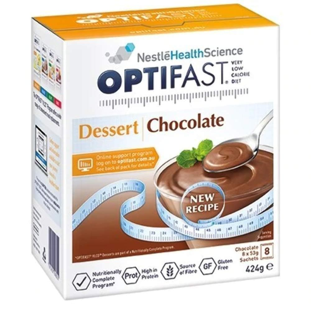 Chocolate Desert Shake By Optifast VLCD - 8 Serves-Optifast-Curavita