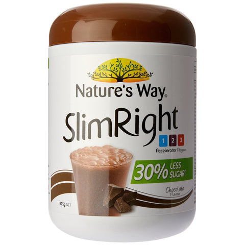 Chocolate Meal Replacement Shake - Nature's Way - 375 gms-Curavita