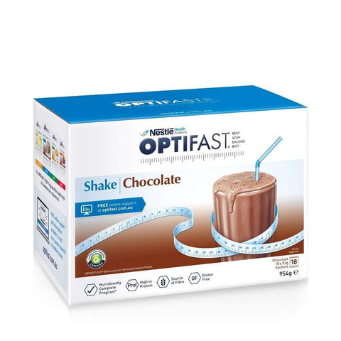 Chocolate Weight Loss Shake By Optifast - 18 Sachets-Optifast-Curavita