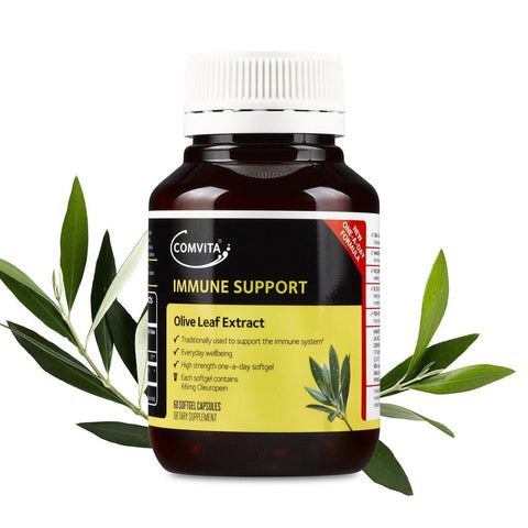 Comvita Olive Leaf Extract High Strength Capsules (60 Caps)