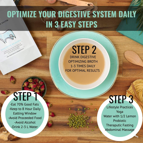 Digestive Optimizing Beef Bone Broth Digestive Cleansing (100gms)-Curavita