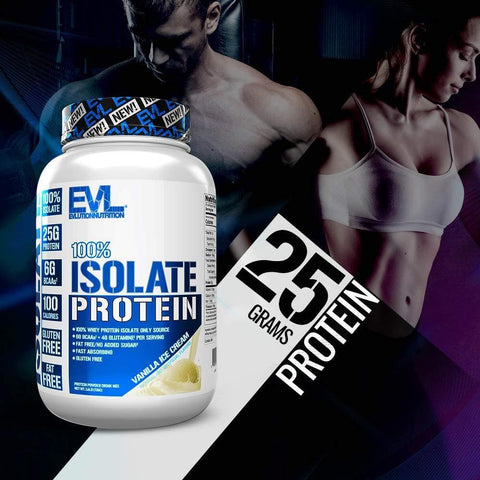 Image of Evlution Nutrition 100% Isolate, Hydrolyzed Whey Isolate Protein Powder - 725 gms-Curavita