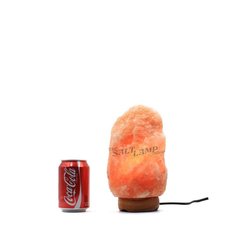 Himalayan Salt Lamp 2-3kg Natural Pink Rock Crystal Decor Dimmer Switch-Curavita