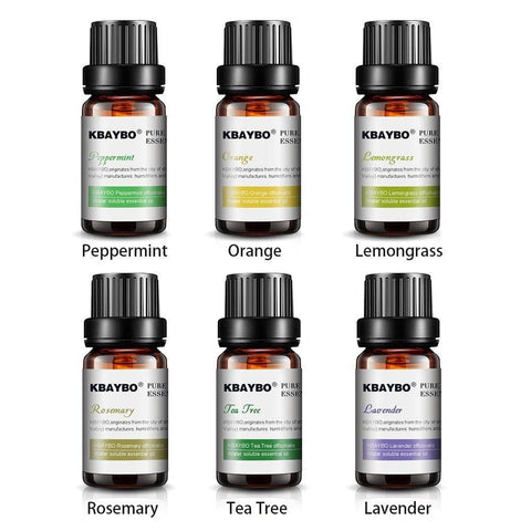 Lavender, Tea Tree, Rosemary & Lemongrass Aromatherapy Oils By K Kbaybo