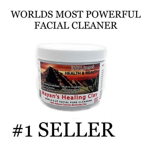 Mayan Secret - Indian Healing Clay - Deep Pore Cleansing Facial & Healing Body Mask-Curavita