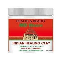 MD Health Indian Healing Clay - 100% Natural Calcium Bentonite Clay - 1lb-Curavita