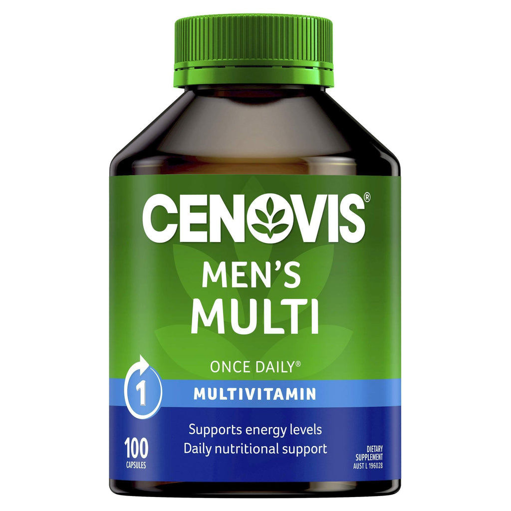 Men's Multi - Multivitamin for men - Supports energy levels - Supports healthy immune system
