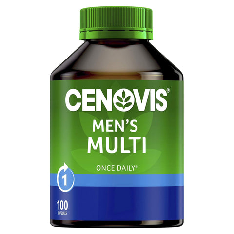 Image of Men's Multi - Multivitamin for men - Supports energy levels - Supports healthy immune system