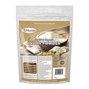 Morlife Inulin Powder 1KG, Certified Organic-Curavita