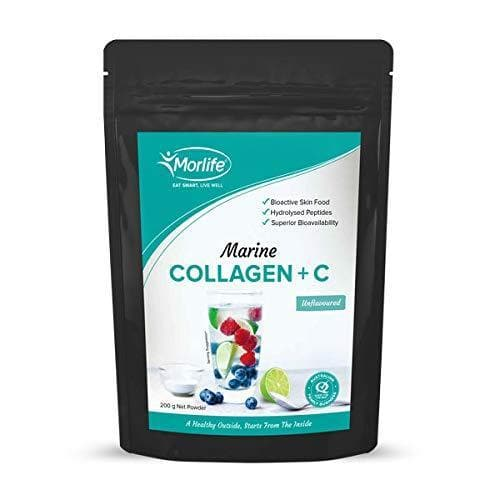 Morlife Marine Collagen + C Unflavoured 200g-Curavita