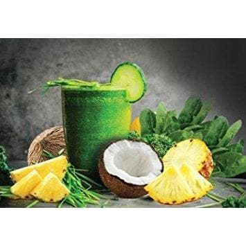 Image of Morlife Super Greens - Pineapple Coconut 1kg | Alkalizing Vegan Green Powder-Curavita