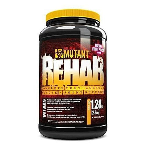 Image of Mutant Rehab - Post Workout and Joint Therapy - Freaky Fruit Punch, 1.28kg-Curavita