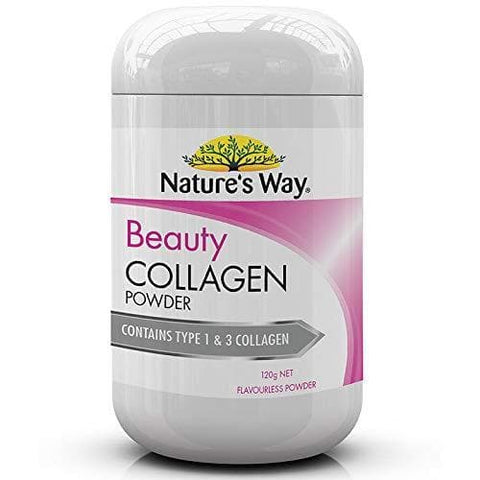 Nature's Way Beauty Collagen Powder, Flavorless, 0.16 Kilograms-Curavita