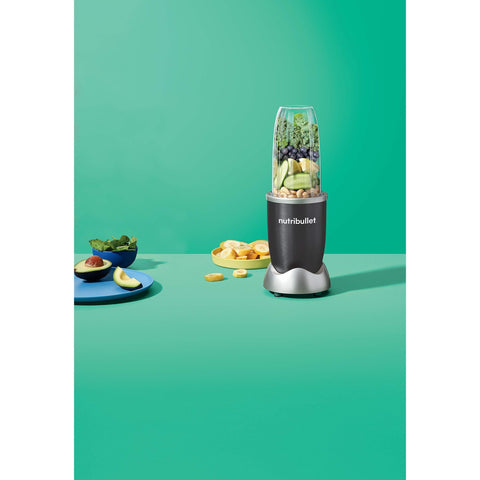 NutriBullet 1000w Series Blender 8 Piece Set, Grey-Curavita