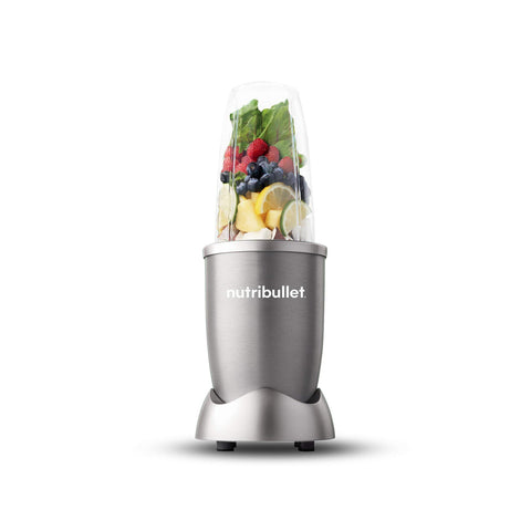 NutriBullet 600W Series Blender, Light Grey-Curavita