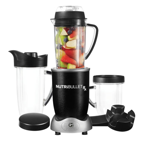 NutriBullet Rx Blender, Black-Curavita