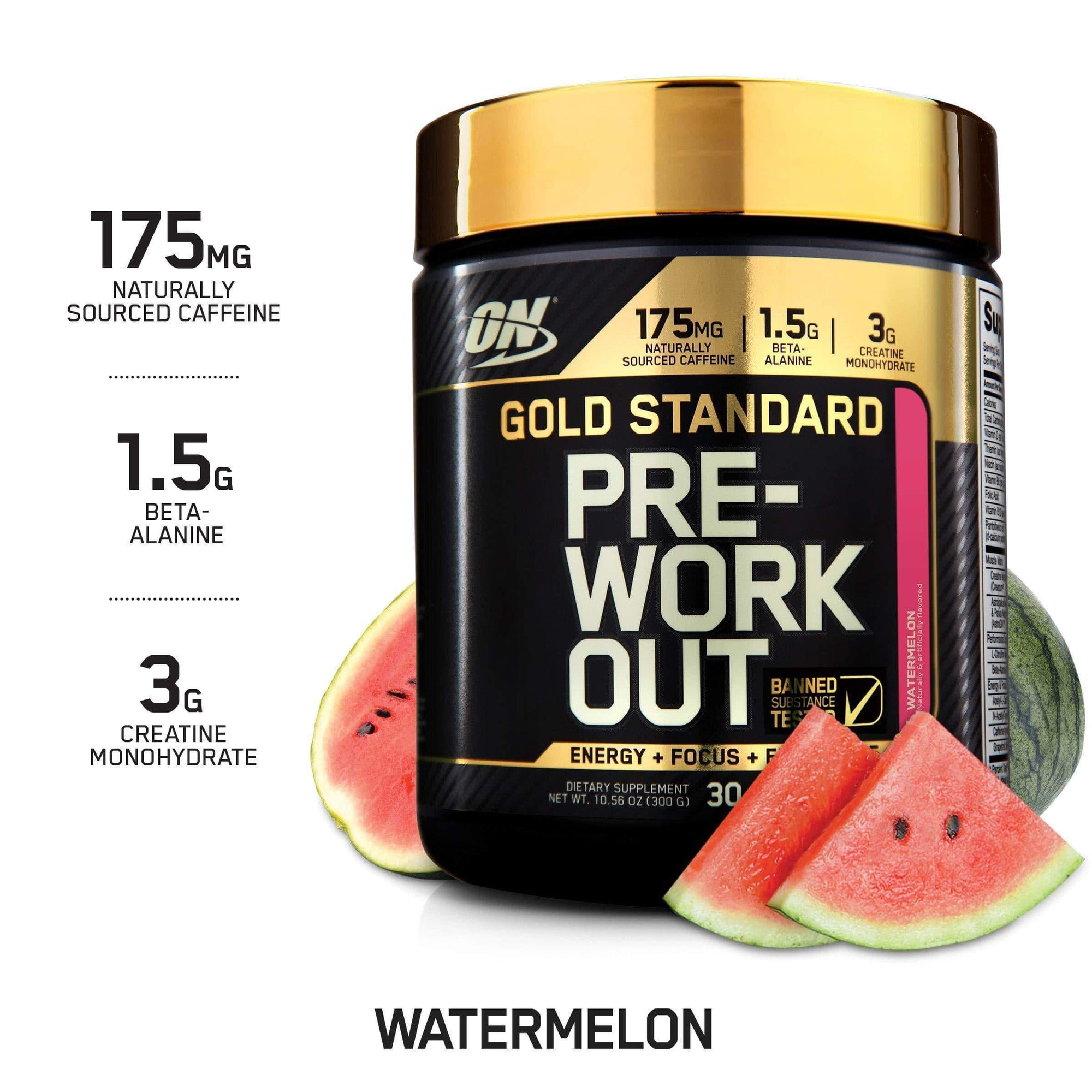 Optimum Nutrition Gold Standard Pre Workout 330g Watermelon-Curavita