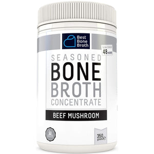 Premium Beef Bone Broth Concentrate Mushroom Flavor-Curavita