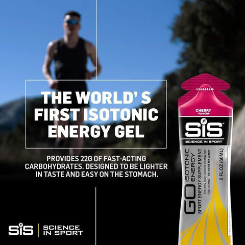 Science in Sport Go Isotonic Energy Gel, Variety Pack, 60 ml, Pack of 7
