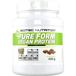 Scitec Nutrition - Post-Workout, 100% Pure Protein Mix - Chocolate Flavour - 450g-Curavita