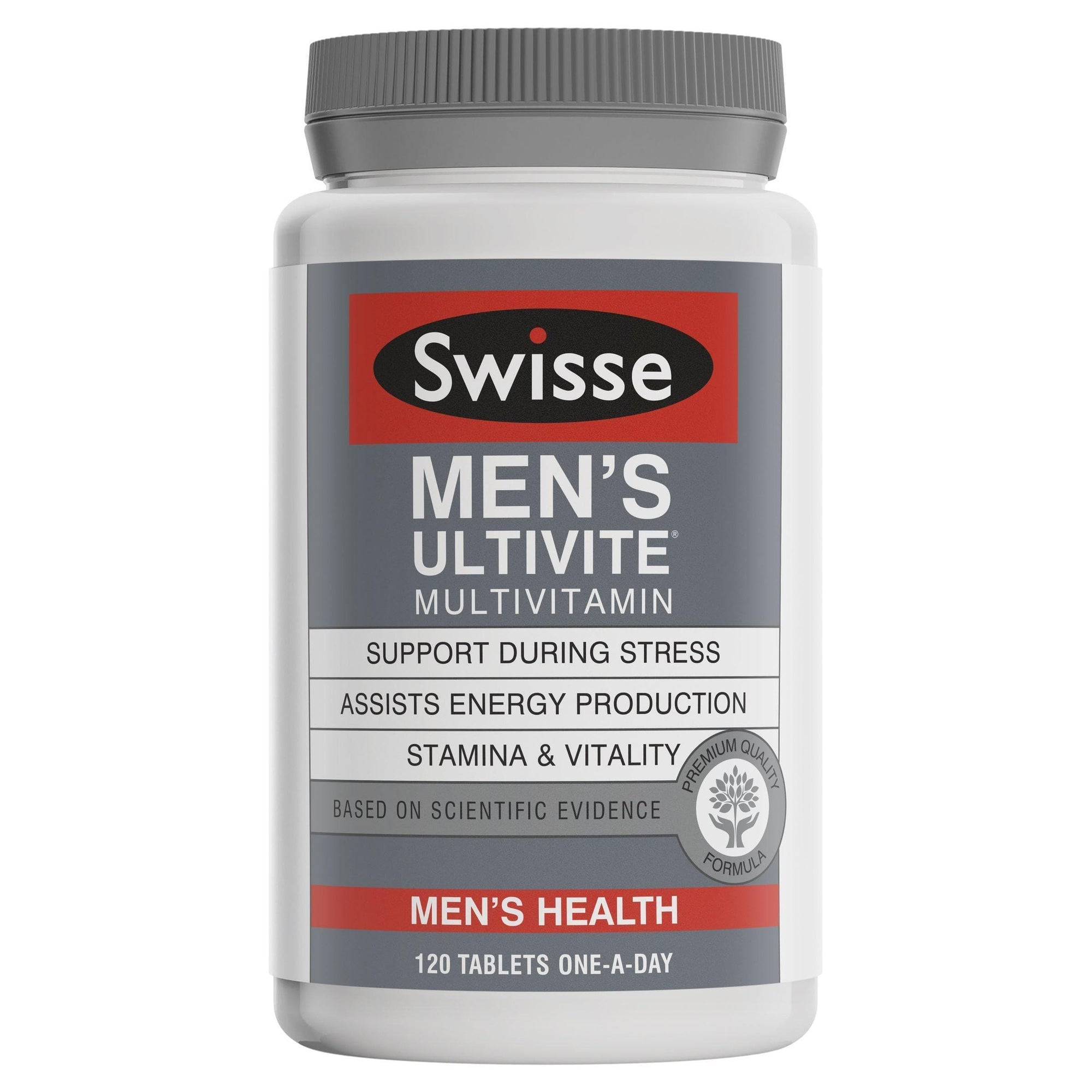 Ultivite Mens By Swisse - 120 F1 Tablets