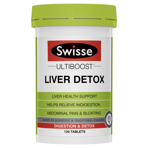 Image of Liver Detox Ultiboost By Swisse - 120 Tabs