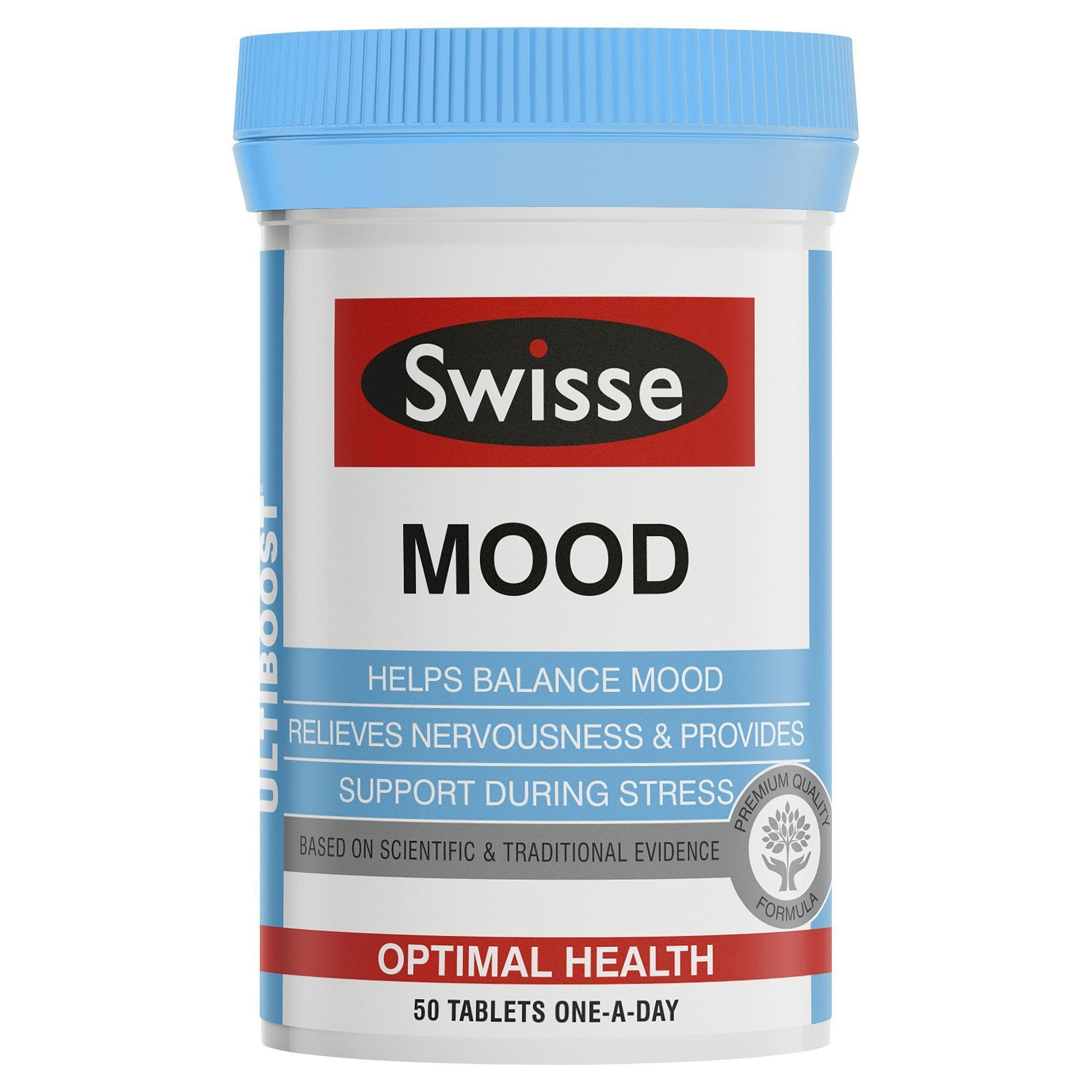 Swisse Ultiboost Mood 50 Tablets