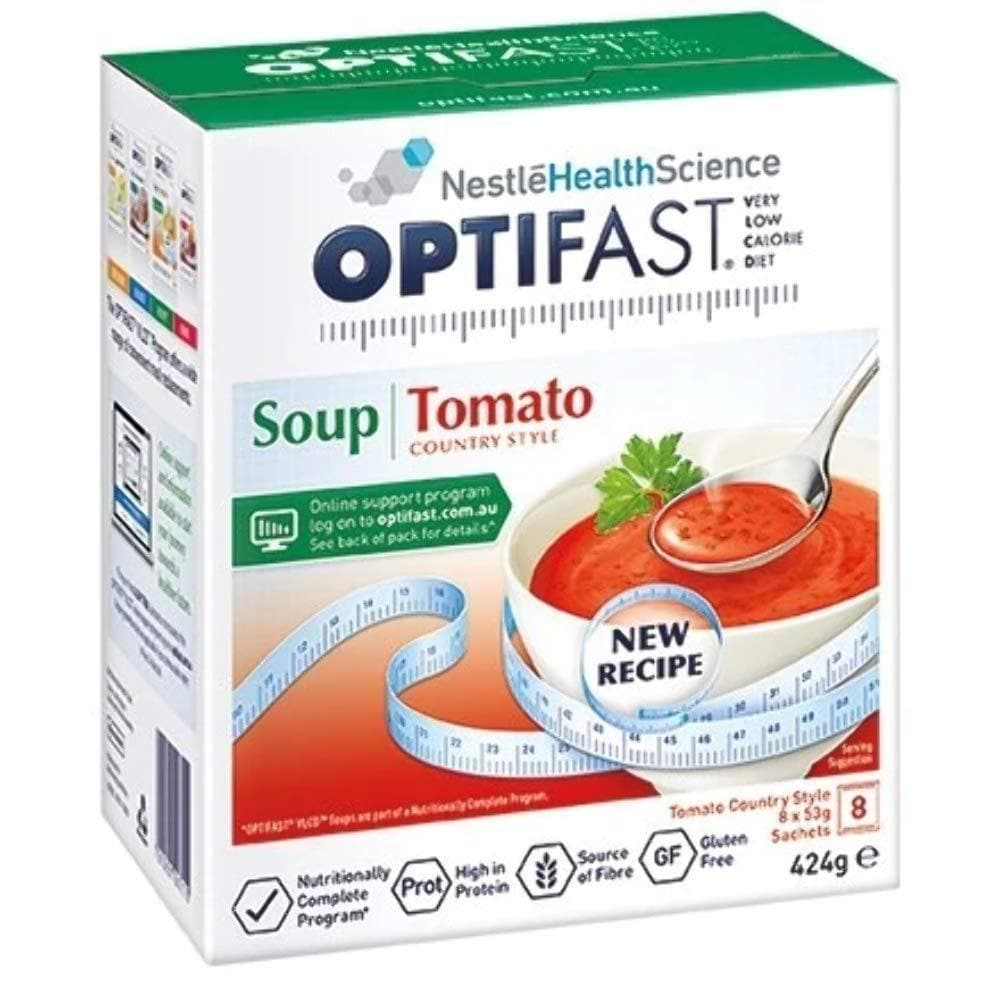 Tomato Soup By Optifast - VLCD 8 Pack-Optifast-Curavita