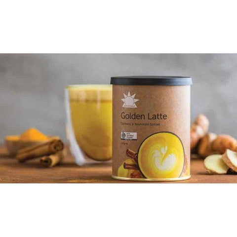 Image of golden latte
