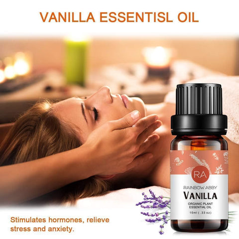 Image of 100% Pure Organic Plant Extract Oil - Vanilla Essential Oil
