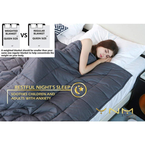 Image of YnM Weighted Blanket For Adults