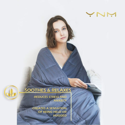 Image of Weighted Blanket by YnM for Adults (7.7kg for 72.5kg Individual)