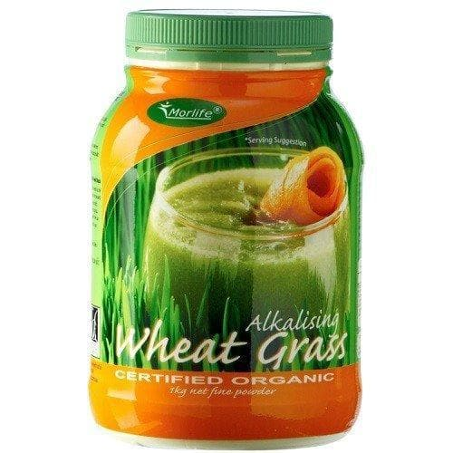 Wheat Grass Certified Organic 1KG, 100% Pure Wheat Grass Powder-Curavita