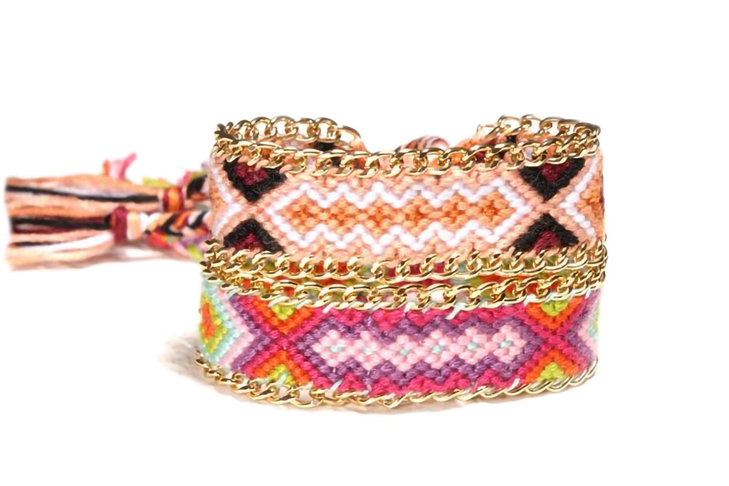 Colourful Weave Bracelet