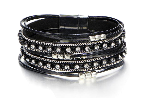 Vintage Friendship Leather Bracelets