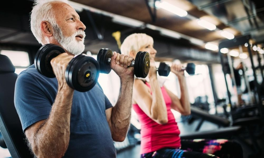 The Key to Building Muscle for Men Over 50