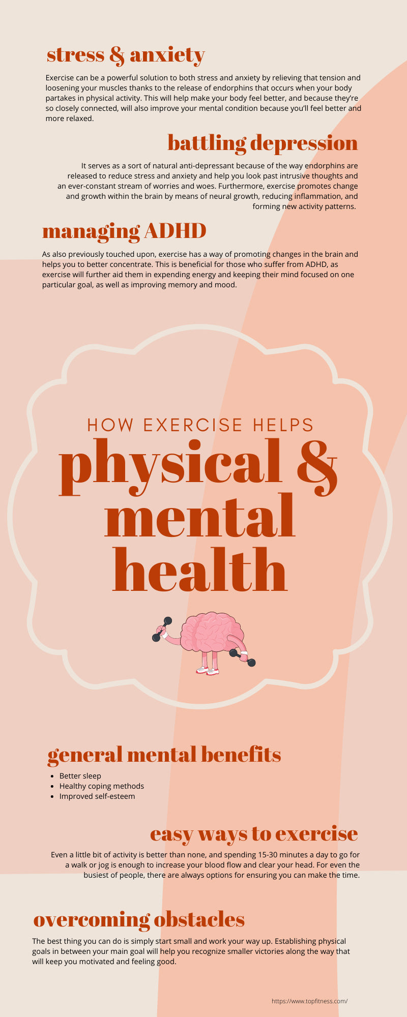 How Exercise Helps Physical and Mental Health